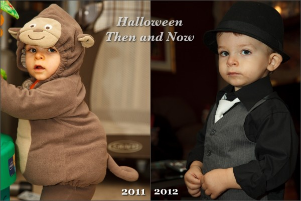 Halloween, Then and Now