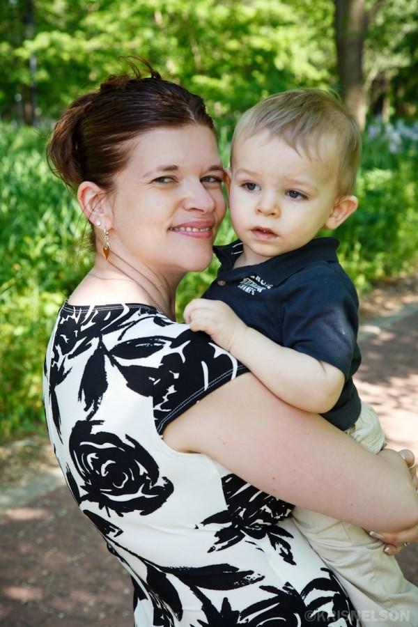 Mama and Christian