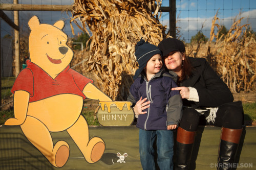 Mama and Pooh Bear