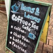 Long Grove coffee sign