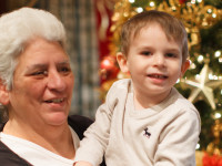 Christian and Grandma